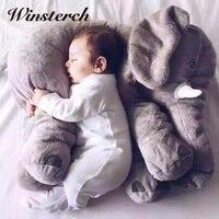 60CM Large Plush Elephant Doll Toy Baby Sleeping Back Cushion Pillow Stuffed Animals Dolls Kids Adults