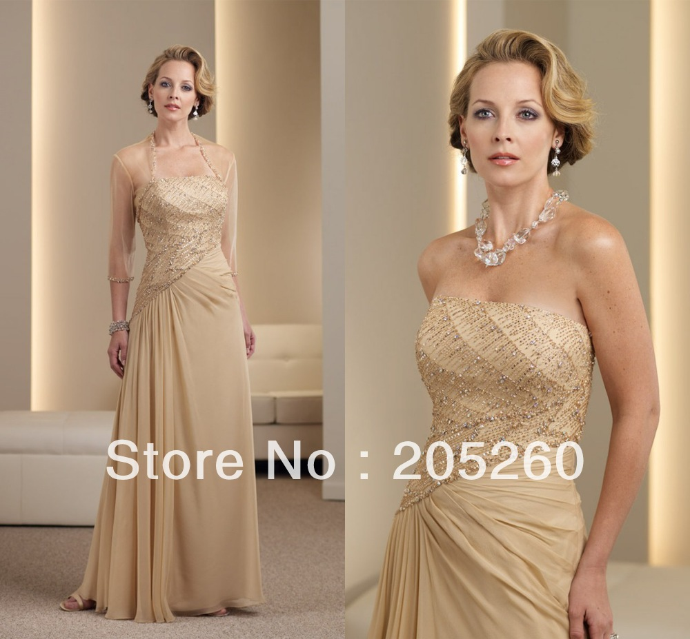 For the Bride Gowns Mother of Gold – Dresses for Woman