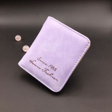 Ladies wallet ultra-thin Short section student wallet female scrub multi-card wallet small Simple wallets portefeuille femme цены