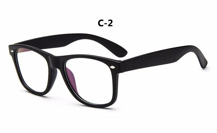 DIGUYAO Homens Marca de luxo Requintado Mulheres Óculos de Lente Plana de  Metal Quadro vidros do Olho Óptico óculos Míopes Rebite Quadrado elegante  Do ... 5878f511d8