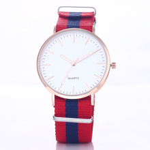 Hot Sale Nylon Strap Watch Men Watch Ultra-Thin Men's Watch Fashion Wrist watches Clock Hour relogio masculino reloj hombre