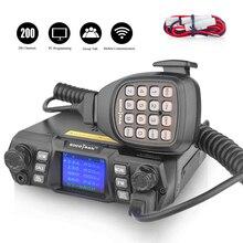 In Moskau walkie talkie 980 Plus dual band 75 W high power 2 way radio 136 174 MHz & 400 480 MHz VHF UHF mobile auto radio transceiver