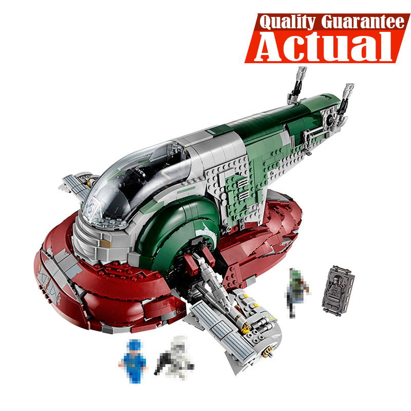 05037 Star 2067pcs Series Wars UCS Slave I Slave NO.1 Model Building lepin Block Bricks Toys Kits Gifts Compatible 75060 lepin 05060 star series wars ucs naboo star type fighter aircraft model building blocks bricks compatible legoed 10026 toy gifts