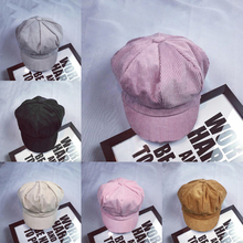 Восьмиугольные шляпы новые летние осенние модные женские берет в стиле винтаж Кепка таксистка Newsboy плоская остроконечная шляпа Твердые Восьмиугольные шляпы