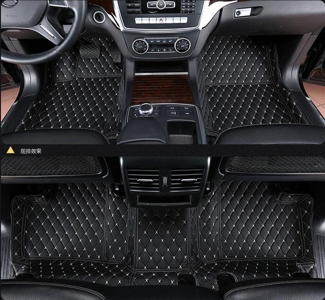 Car Floor Mat For Honda Fit Accord Odyssey Stream Civic Stepwgn CR V