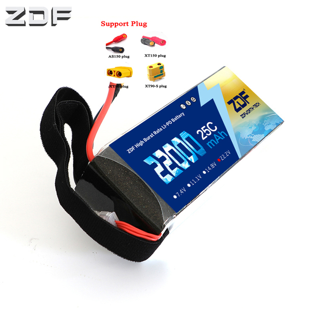 ZDF Power 22.2V 22000mAh 6s 25C Special battery for model aircraft plant protection machine Helicopter UAV Drones