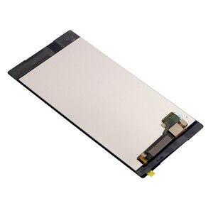 """Image 4 - Adequado para sony xperia z5 premium 5.5 """"lcd digitador da tela de toque para sony xperia z5p z5 plus e6853 e6883 display mais quadro"""