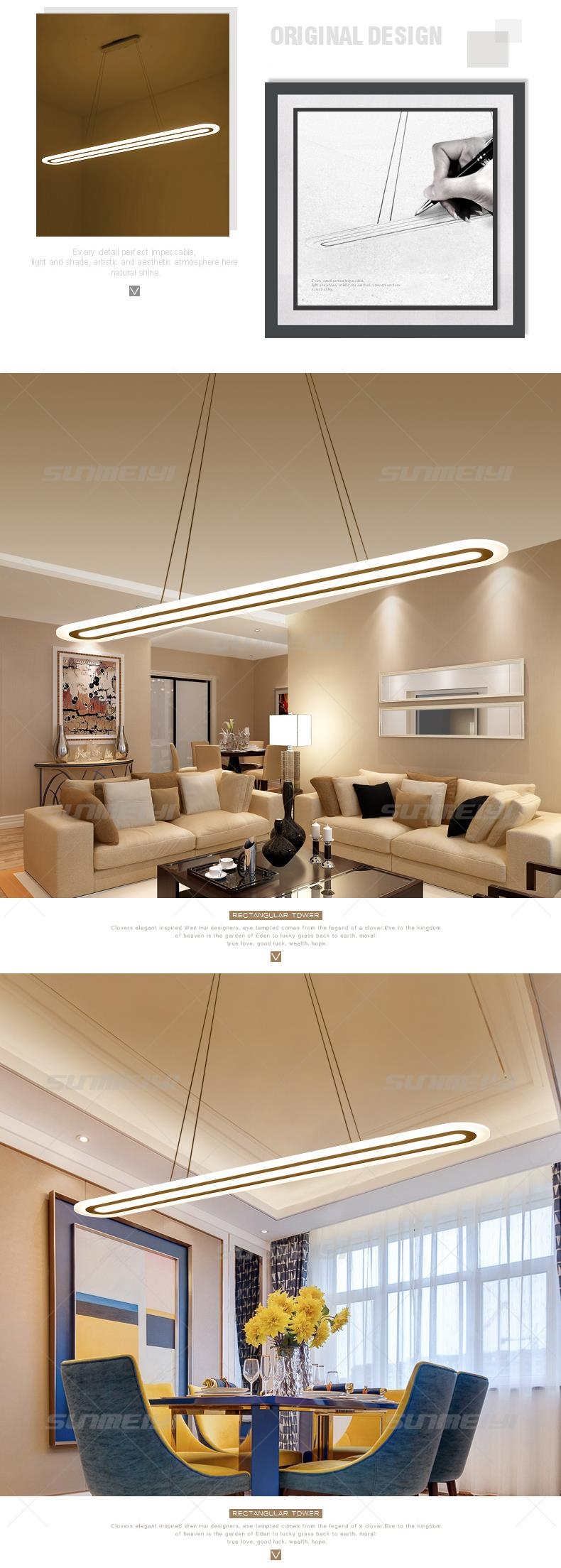 Aliexpress.com : Buy 2018 Modern LED Simple Pendant Lights For ...