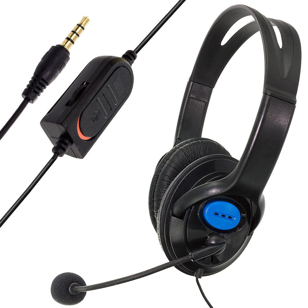 Wired Gaming Headset Headphones with Microphone for PS4 PC Laptop Phone Jun12 ...