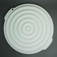 Free shipping Round Shape Silicone Cake Insert Decor Mold,Cake Fondant Mold
