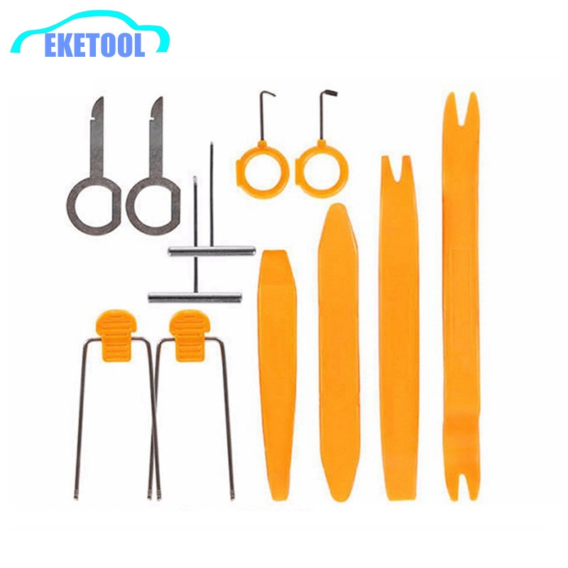 Best Quality Car Audio Installation Kit 12pcs/Set Stereo Refit Interior Panel Clip Auto Removal Tool Ferramentas Herramientas