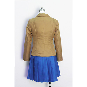 Image 5 - Doki Doki Literature Club Monika Sayori Yuri Natsuki Cosplay Costume School Uniform Girl Game Costume