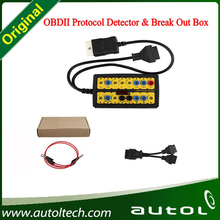 Wholesale Price!!! OBDII Protocol Detection & Break Out Box OBDII Auto Diagnostic Tool