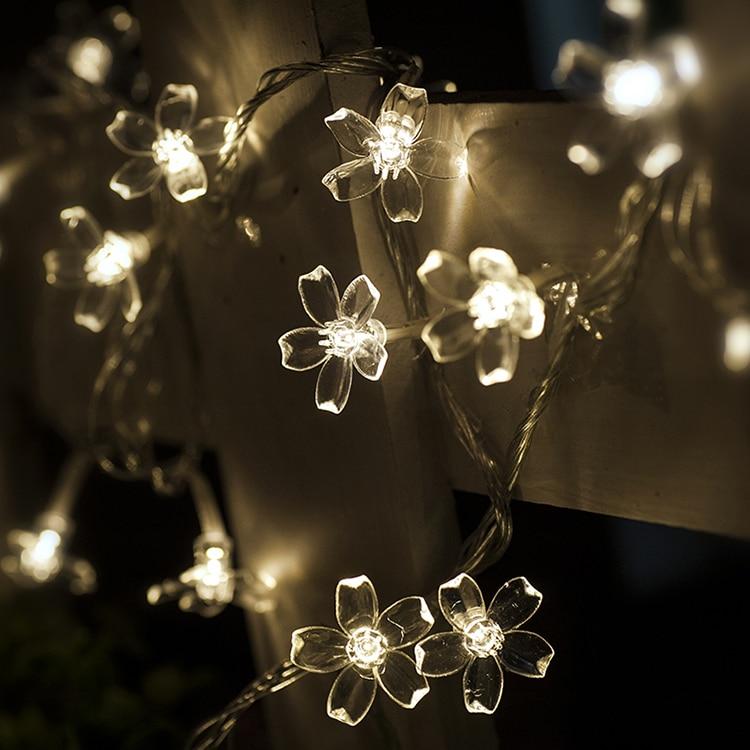 AC220V 10M 50LED Вишневе Квітка Різдвяні - Святкове освітлення - фото 3