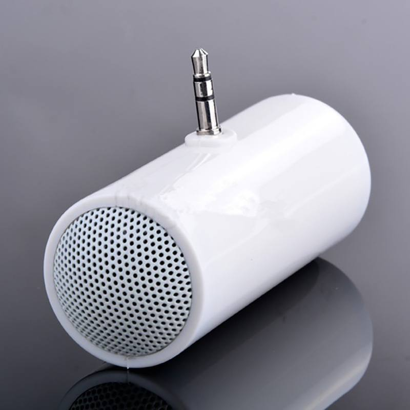 3.5mm Mini Cylindrical Small Speaker Colorful Jack Mobile Phone Speaker For Iphone Samsung Huawei Phones Ipad Tablet