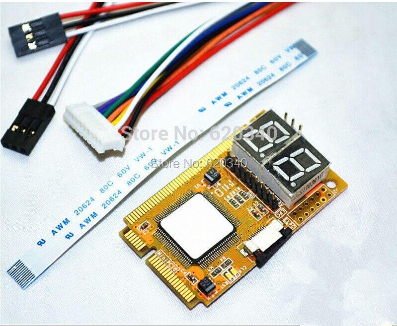 mini pci e combo debug card - Best 5 in 1 Mini Combo Debug Test Card (Support PCI-E, PCI, LPC, I2C, ELPC) For Laptop Motherboard diagnose card
