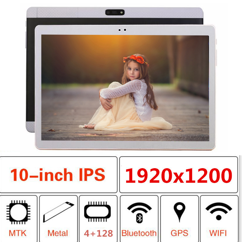 2019 Super K99 10.1' Tablets 10 Core Large Capacity 128GB ROM Dual Camera 8MP Android 7.0 Tablet PC 1920x1200 Wifi GPS Bluetooth
