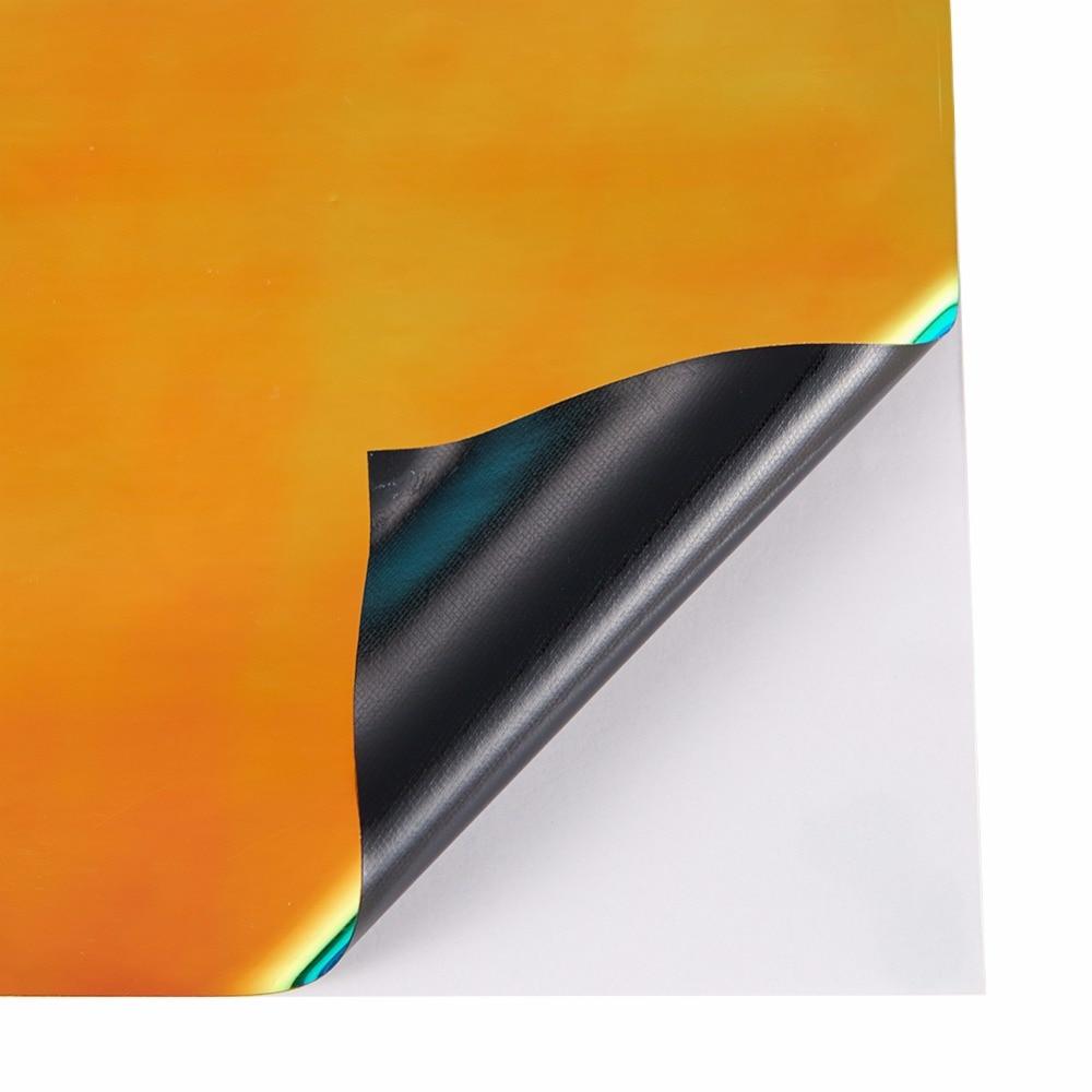135*20 см Автомобильная наклейка s изменение цвета Хромовая виниловая пленка лазерное покрытие автомобиля обертывание наклейка воздушная пленка