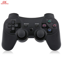 2019 New arrival Wireless Game Controller with charging cable for PS3 gamepad Wireless 6 axis Double Shock