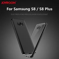 Original Joyroom Luxury Soft Galaxy S8 Plus Cases Shockproof Eletroplating Case For Samsung S8 S8 Plus