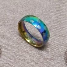 Paw Print Ring – Rainbow & Silver
