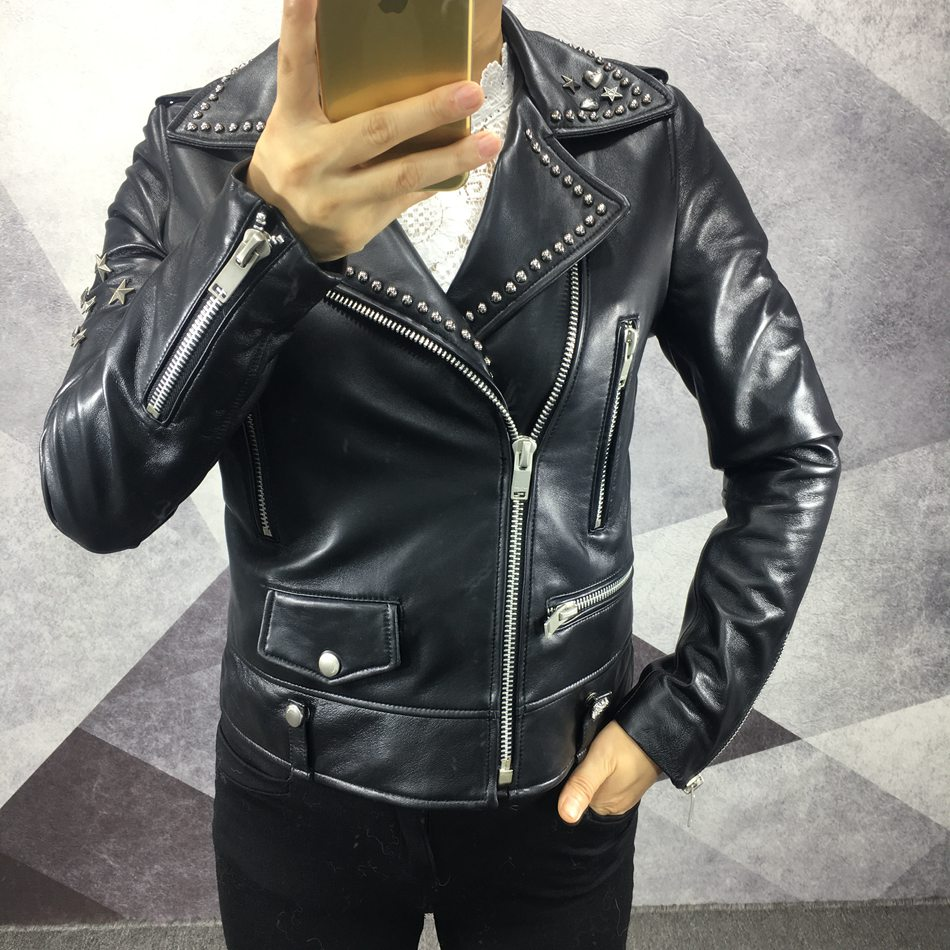 genuine leather jacket ladies (1)