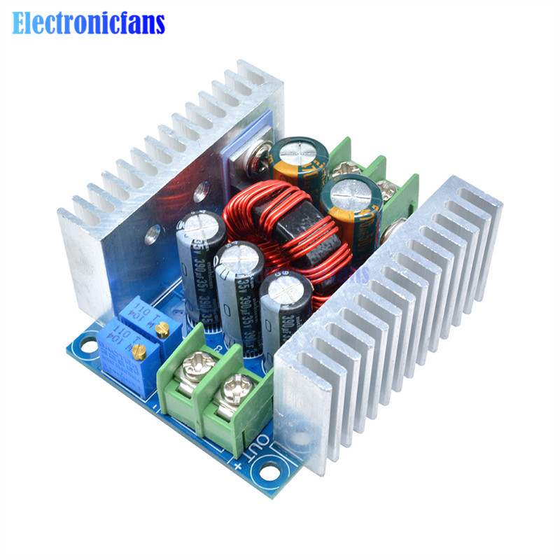 <font><b>300W</b></font> 20A <font><b>DC</b></font>-<font><b>DC</b></font> Buck Converter Step Down Module Constant Current LED Driver Power Step Down Voltage Module Electrolytic Capacitor image