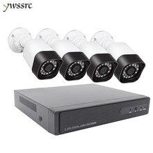 HD 1080P 4CH Wireless CCTV Security Camera System CCTV Camera NVR Kit IR Night Vision WIFI Outdoor Security IP Camera