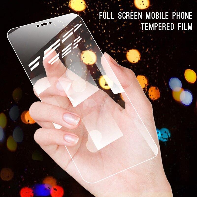 Tempered Glass For Xiaomi Redmi Note 6 5 8 Pro 5 Plus 6A Mi 8 A2 Lite A1 Mi6X Mi8 Transparent Screen Protector Toughened Film