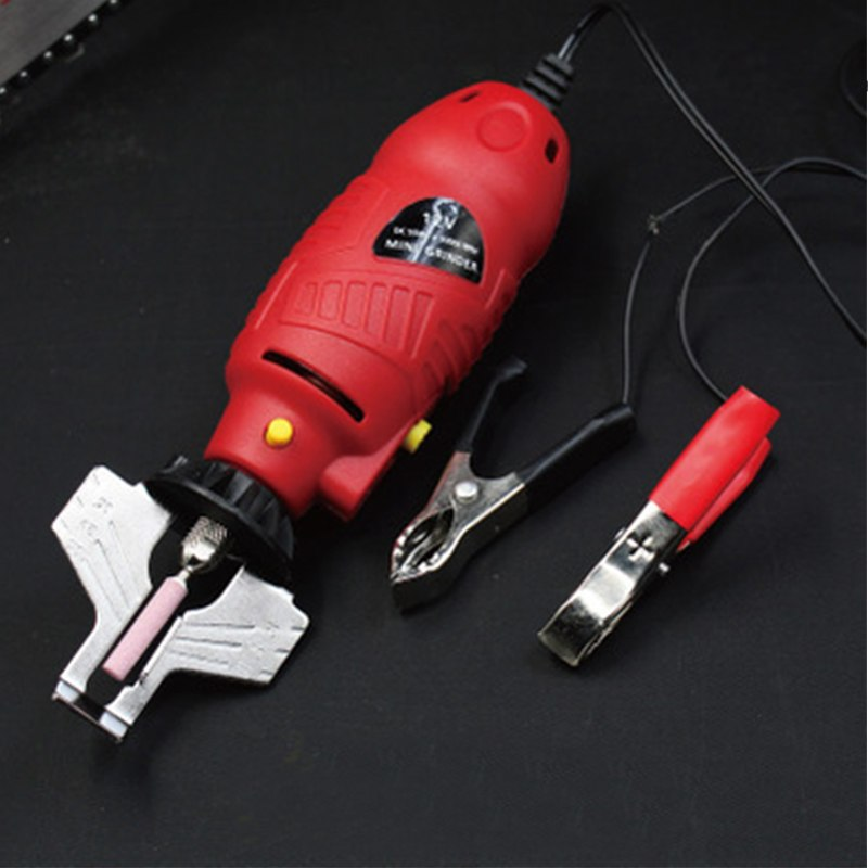 High Strength Chainsaw Chain 12V Chain Saw Sharpener Grinder Electric Grinder File Tools 850*80*50mm Machine Power Tool
