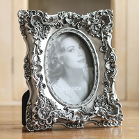 Hot Selling Newest European Antique Home Deck Creative Photo Frame Old Square Resin Photo Frame Home Decor 50WW020