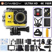 Gopro hero 4 style F60R Action camera 4K 30fps WiFi Allwinner V3 Waterproof KAMERA Remote Control go pro Sport Camera Mini Cam