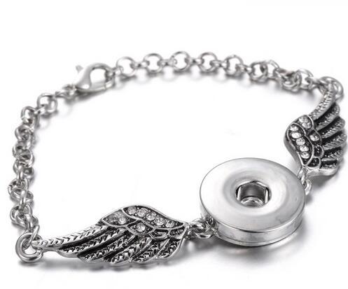 Neue Pl0137 Schönheit Strass Bunte Schmetterling Runde 20mm Snap Tasten Fit 18mm Snap Armband Schmuck Großhandel Id-armbänder Schmuck & Zubehör