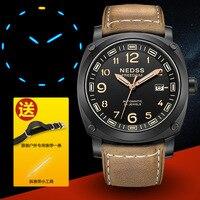 Luxury brand military watch men Miyota mechanical watches Swiss H3 Tritium luminous sapphire 50M waterproof clocks uhren montre
