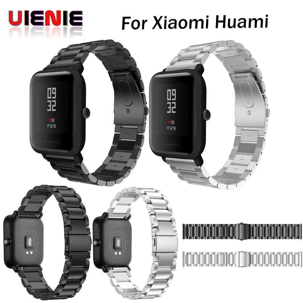 20mm Stainless Steel Wristband For Xiaomi Huami Amazfit