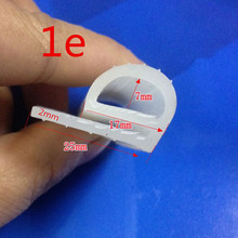 1Meter seal for oven high temperature silicone seal silicone seal strip seal for oven Steamed rice machine oven parts
