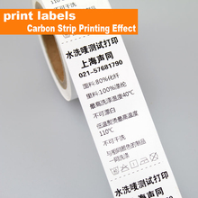 Customized printed logo washing/main labels washable nylon material for Garment clothes/shoes/bags/clothing tags