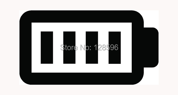 FULL BATTERY Sticker Batt Cell for Car Window Vinyl Decal Fun Charged Phone Wifi