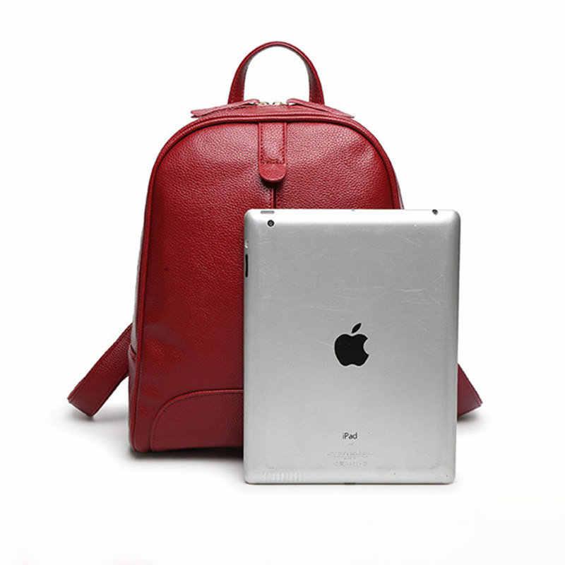 QIAOBAO 2019 Модный женский рюкзак из натуральной кожи на молнии сумка для девочки летний Стиль Женский дизайнерский рюкзак Bolsas