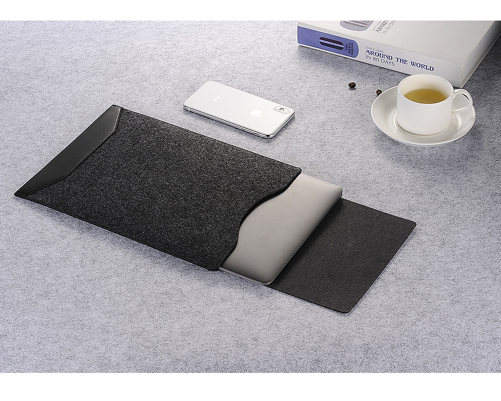 Wool Felt Sleeve For Macbook Pro 13 Pro 15 2018 2016 Laptop Sleeve Wool Felt A1990 A1707 A1989 for Macbook Pro 13 15 2018 Case image