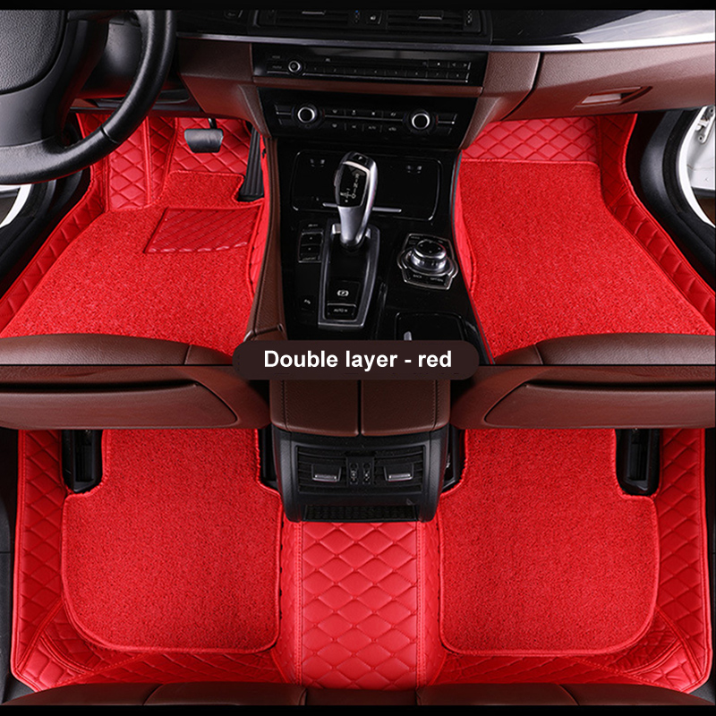 Double car floor mat for Audi A1 A3 A4 B6 B7 B8 B9 A5 A6 C6 C7 A7 A8 A8L Q3 Q5 Q7 R8 TT leathe rugs carpet linersDouble car floor mat for Audi A1 A3 A4 B6 B7 B8 B9 A5 A6 C6 C7 A7 A8 A8L Q3 Q5 Q7 R8 TT leathe rugs carpet liners