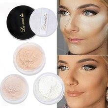 Polvos y Base para la cara corrector Base brillante mate translúcido ajuste suelto maquillaje profesional control de aceite poro Invisible
