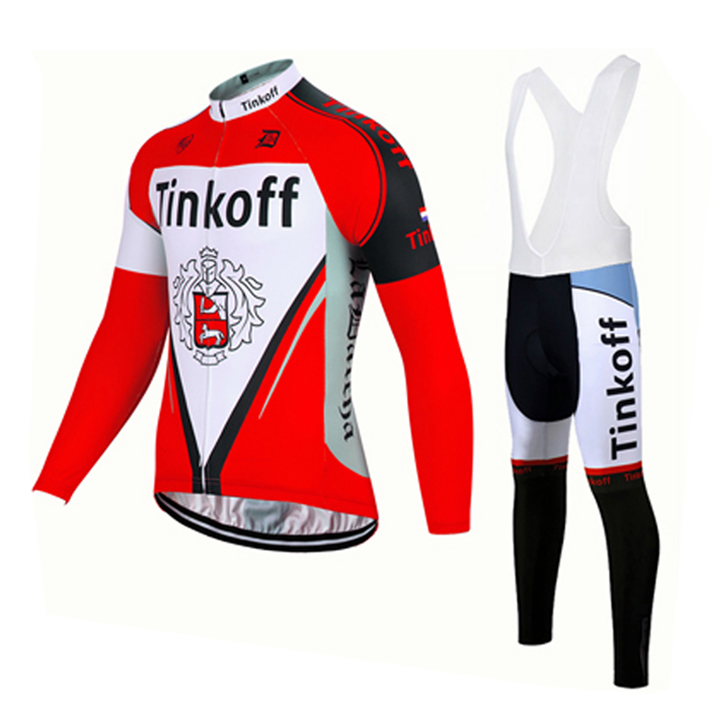 2018 Team Saxo Bank Pro Cycling Clothing Breathable Long Sleeve Mountain Bike Jersey Quick Dry Bicycle Sportswear Ropa Ciclismo in Cycling Jerseys from Sports Entertainment