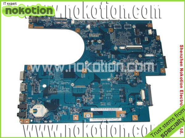 NOKOTION MBPT401001 48.4HN01.01M laptop motherboard for Acer 7741 intel HM55 ATI graphic DDR3 Mainboard free shipping laptop motherboard fit for acer aspire 3820 3820t notebook pc mainboard hm55 48 4hl01 031 48 4hl01 03m