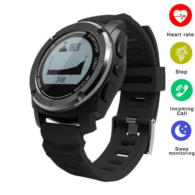 Sport Montre Smart Watch S928 Soutien G-capteur GPS Thermomètre Moniteur de Fréquence Cardiaque Notification Mode Sport Montre-Bracelet pour Android IOS
