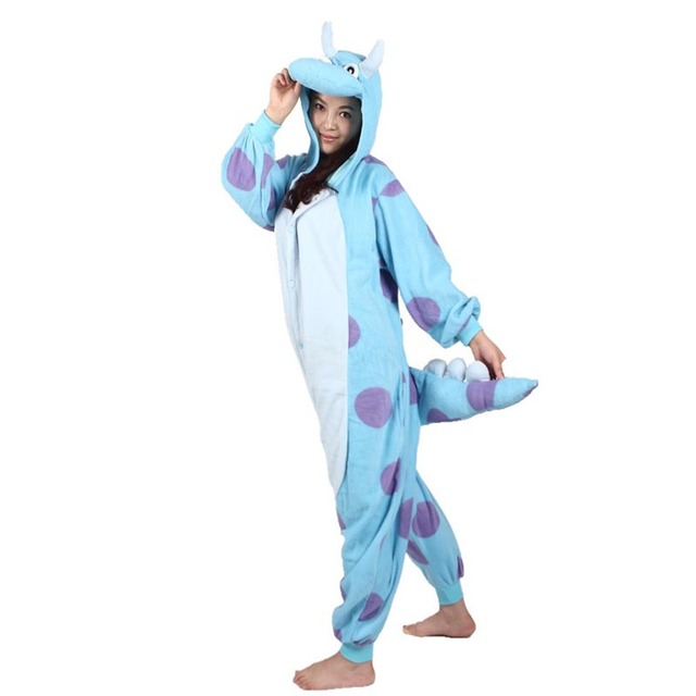 Animal Onesie Cosplay Costume Adult Pajamas Fox Cow Duck Kangaroo Tiger Dog Rabbit Bear Cat Squirrel Penguin Donkey Pyjamas