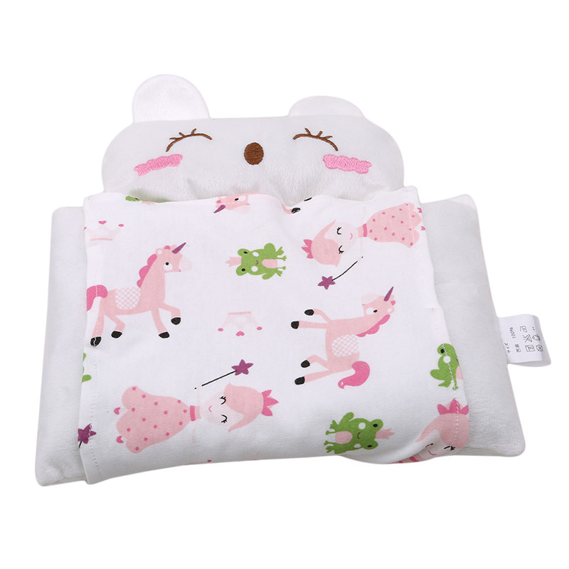 Baby Shaping Pillow Prevent Flat Head Infants Animal Bedding Pillows Newborn Boy Girl Room Decoration Accessories 0-24 Month