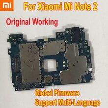 Globale Firmware Original Entsperren Mainboard Für Xiao mi mi Hinweis 2 Note2 Motherboard Schaltungen Karte Gebühr Wichtigsten Bord Telefon Zubehör