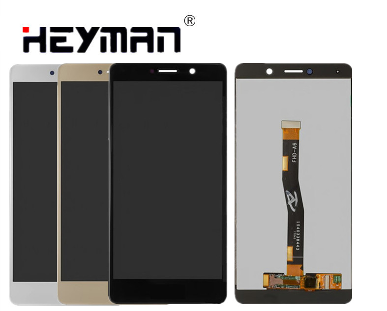 Heyman LCD for Huawei GR5 (2017), Honor 6X, Mate 9 Lite(with touchscreen,BL L23/BLN L21)LCD Screen and Digitizer Assembly