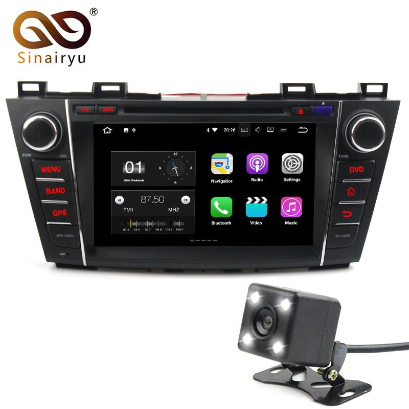 Sinairyu 2 г Оперативная память Android 7.1 автомобильный DVD для Mazda 5 2006-2013 Octa core 16 г Встроенная память Радио GPS навигации игрока головное устройство